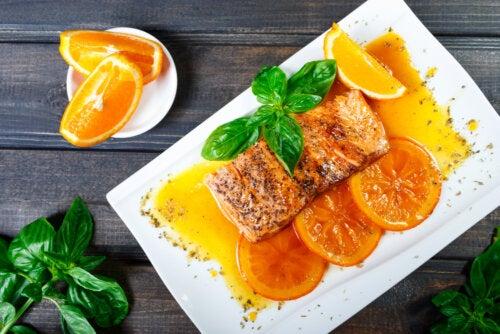 Salmón a la naranja: receta fácil y sabrosa