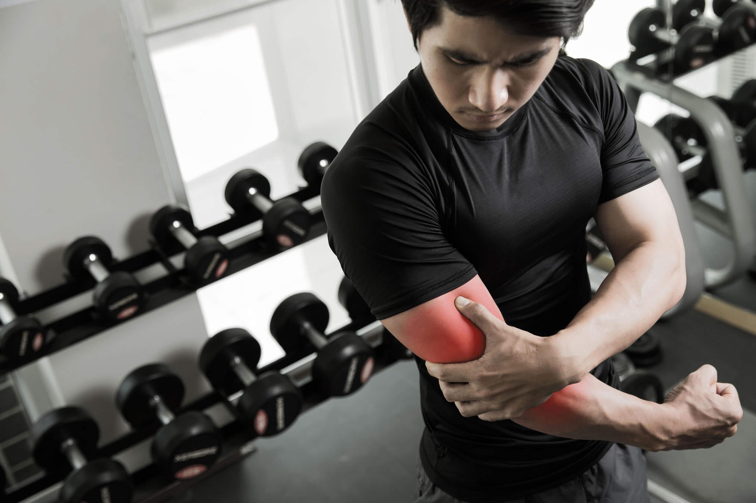 Lesión en el entrenamiento de body pump.