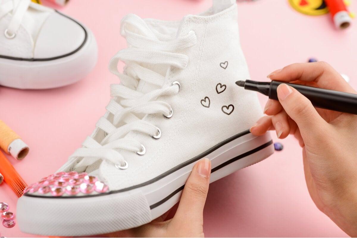 Personalizar las zapatillas.
