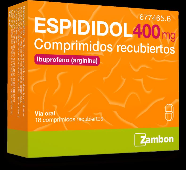 Ibuprofeno-arginina comprimido