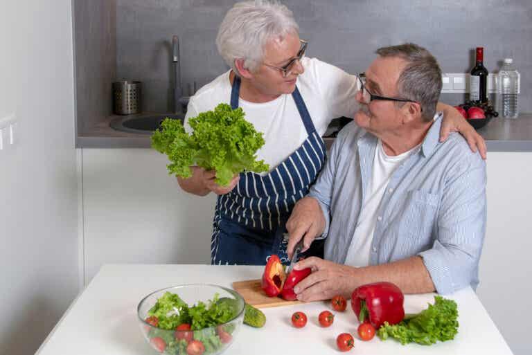 ¿Cuáles son los requerimientos nutricionales del adulto mayor?