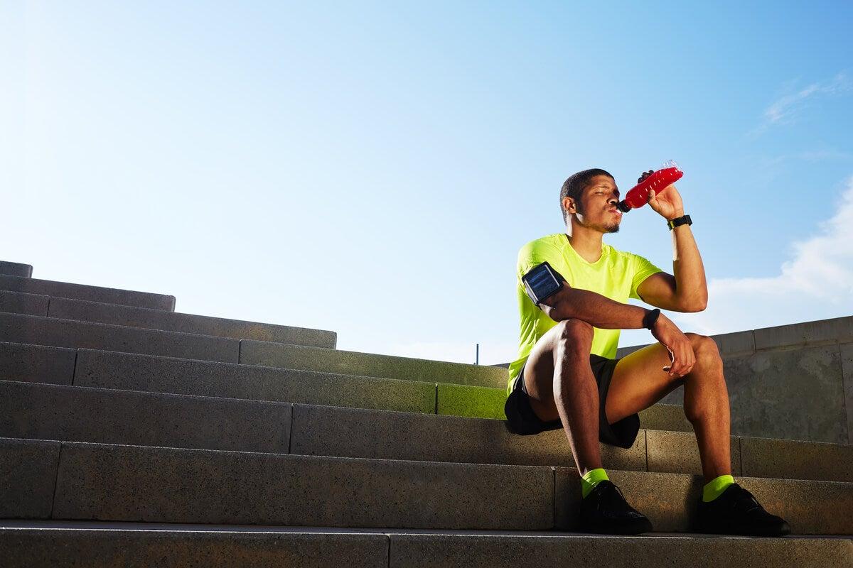 Hidratación en el deporte.