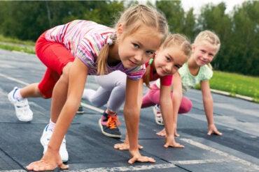 Efectos secundarios del exceso de actividad física en los niños