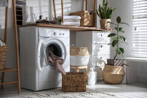 8 consejos para ordenar el cuarto de lavado
