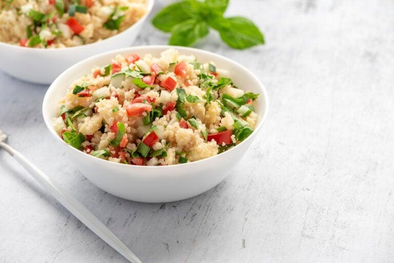 Receta de cuscús con verduras