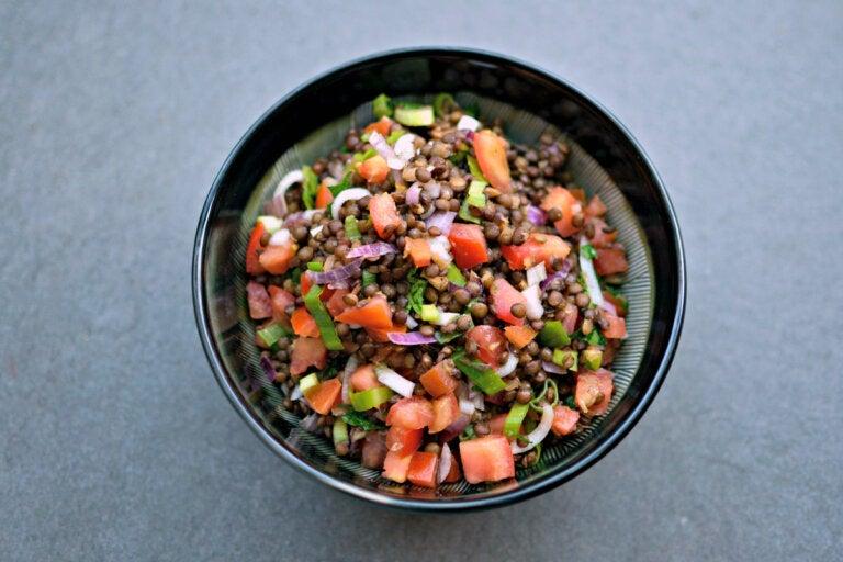 Ensalada de lentejas: receta fácil y deliciosa