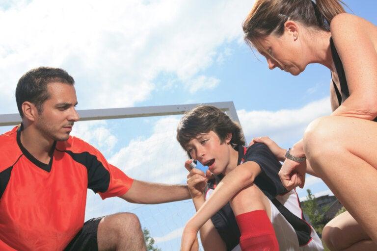 Asma inducido por ejercicio: tratamientos y prevención