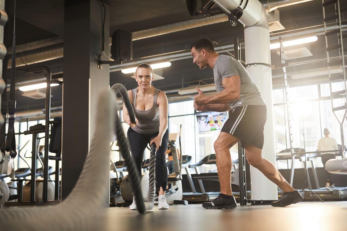 Tipos de ejercicio para entrenar con Rope Training