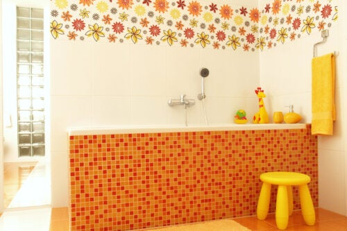 7 ideas para decorar baños infantiles