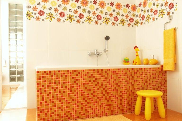 7 ideas para decorar baños infantiles