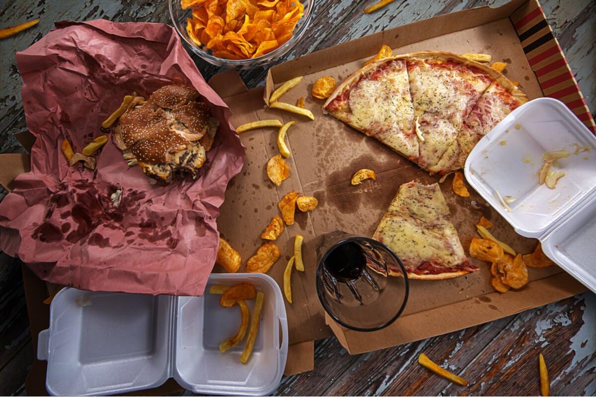 Alimentos ricos en grasa en la dieta Noom.