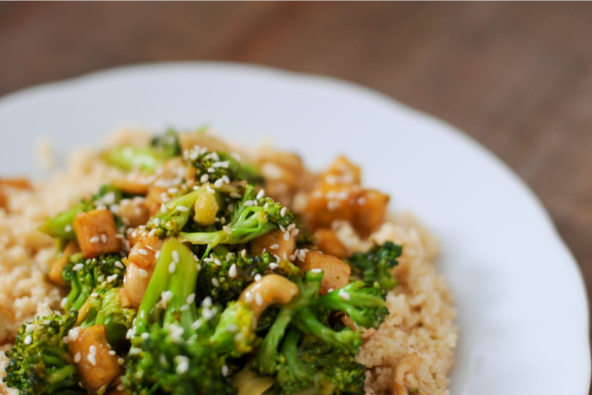 Ensalada cuscús de brócoli: una receta ligera y saludable