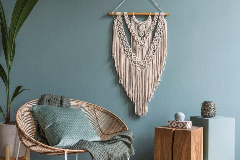 Ideas para incluir flecos en la decoración de tu casa