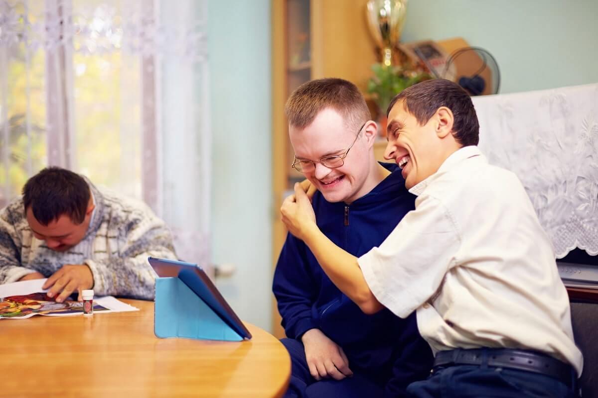 Discapacidad intelectual y personas discapacitadas.
