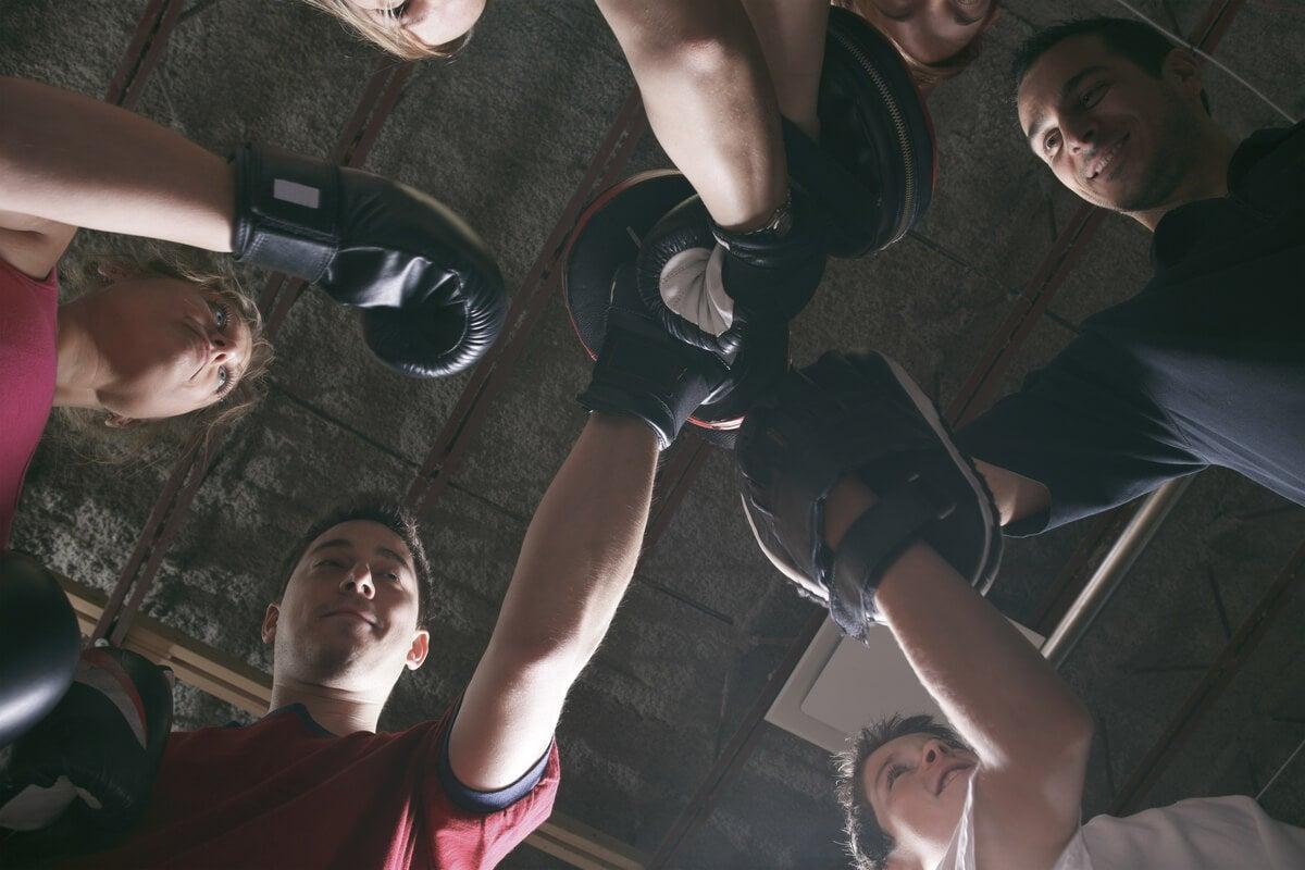 Gimnasio para fitboxing-