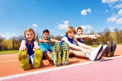 Importancia del ejercicio físico y el deporte en los niños