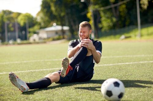 Las 7 lesiones más frecuentes en el fútbol