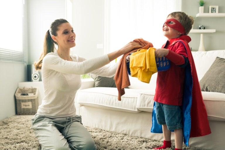 Ayuda de los hijos en las tareas del hogar: importancia, beneficios y recomendaciones