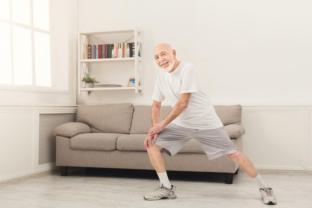 Ejercicios funcionales para ancianos en casa.