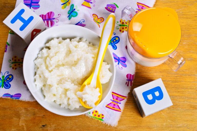 ¿Cómo introducir el arroz a la dieta del bebé?