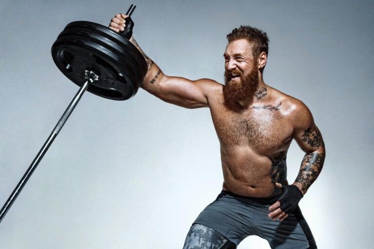 Beneficios y ejercicios con una barra landmine