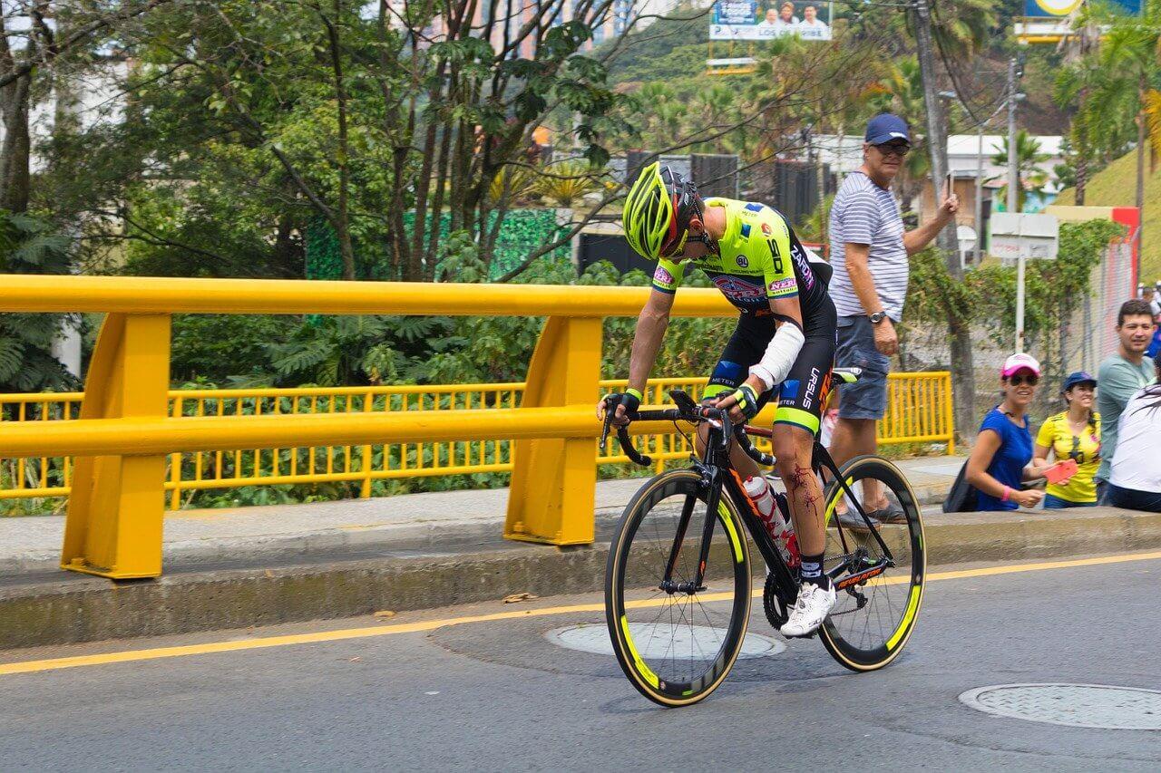 Las lesiones más frecuentes en el ciclismo