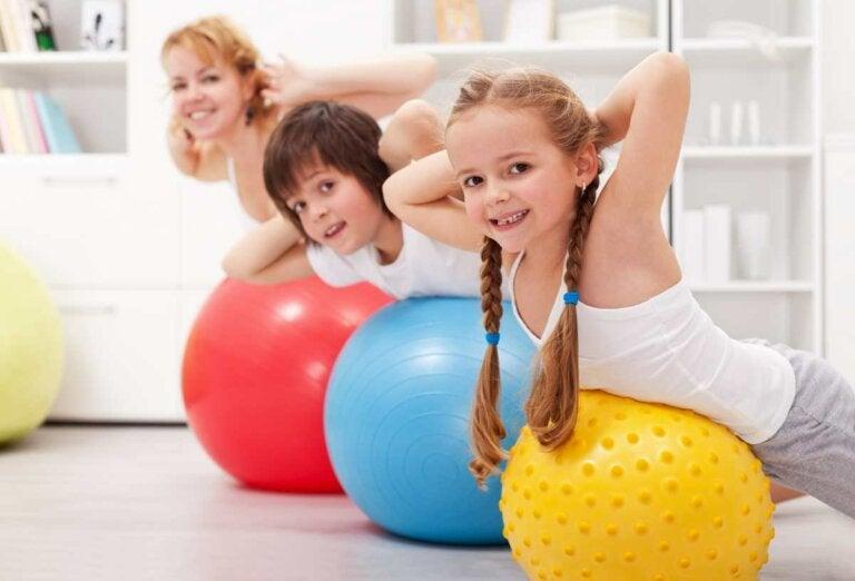 Los niños y el ejercicio físico: todo lo que debes saber