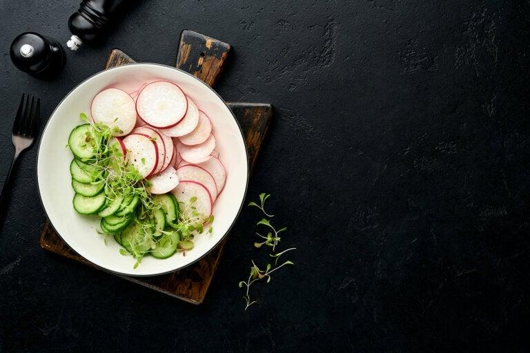 Ensalada de rábano: receta fácil y rápida