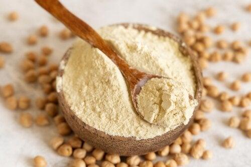 5 recetas con harina de garbanzos que te gustará probar