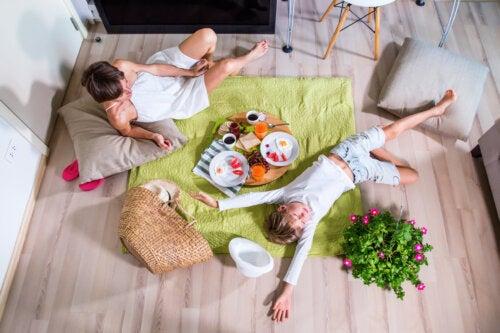¿Cómo hacer un pícnic en casa?