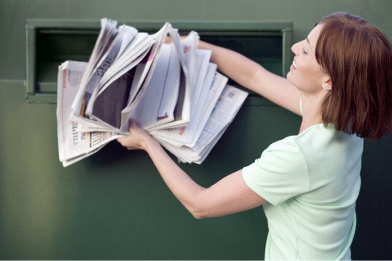 9 maneras de reciclar papel periódico