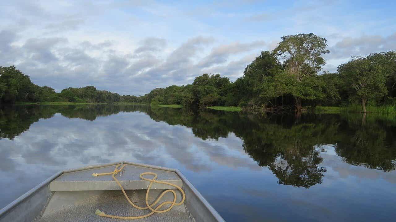 Río en el Amazonas.