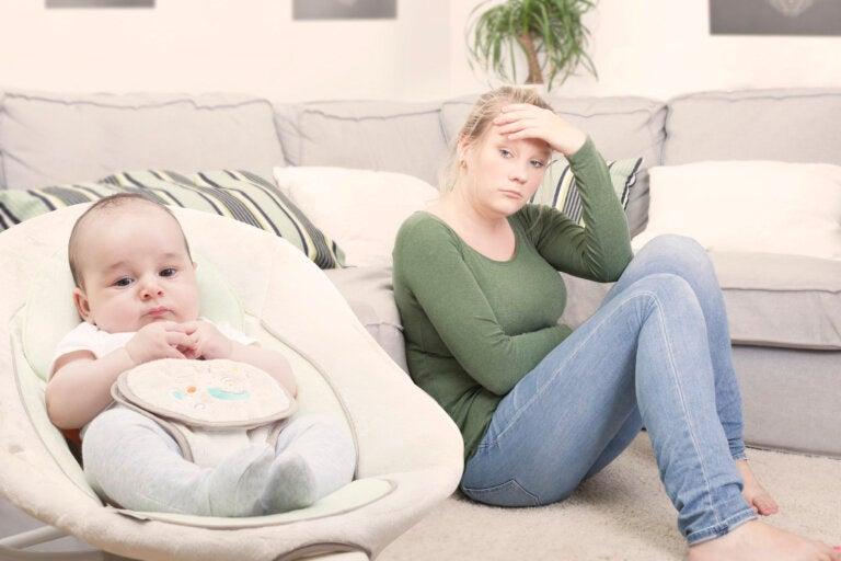 Trastorno ansioso de la madre tras el parto: ¿qué es y cómo afrontarlo?