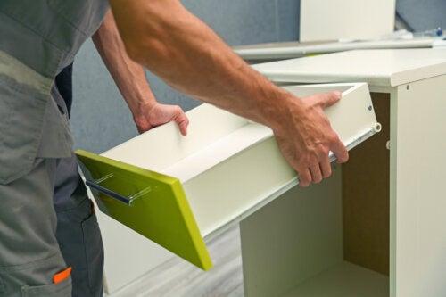 5 tipos de materiales para muebles de cocina