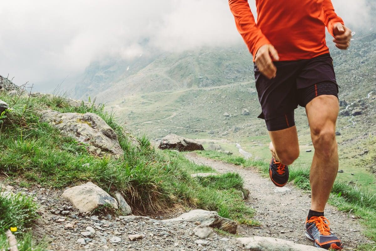 Zapatillas para trail running.