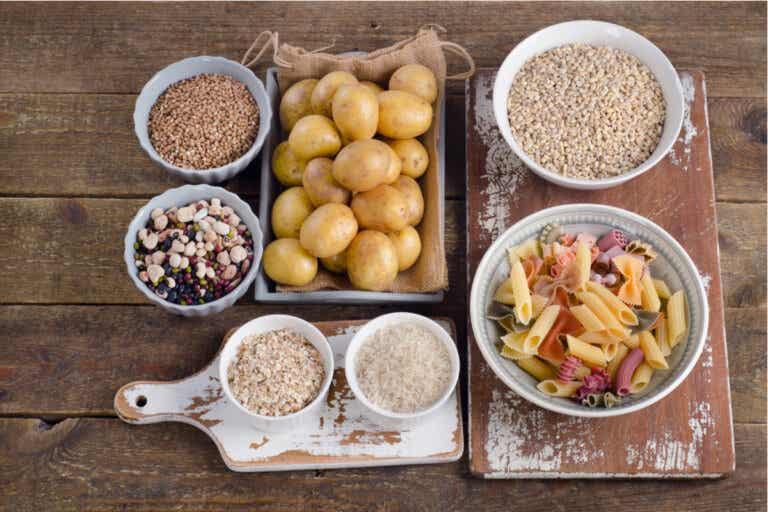 3 alimentos saludables abundantes en carbohidratos