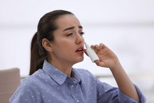 Adicción al spray nasal: ¿puede ocurrir?