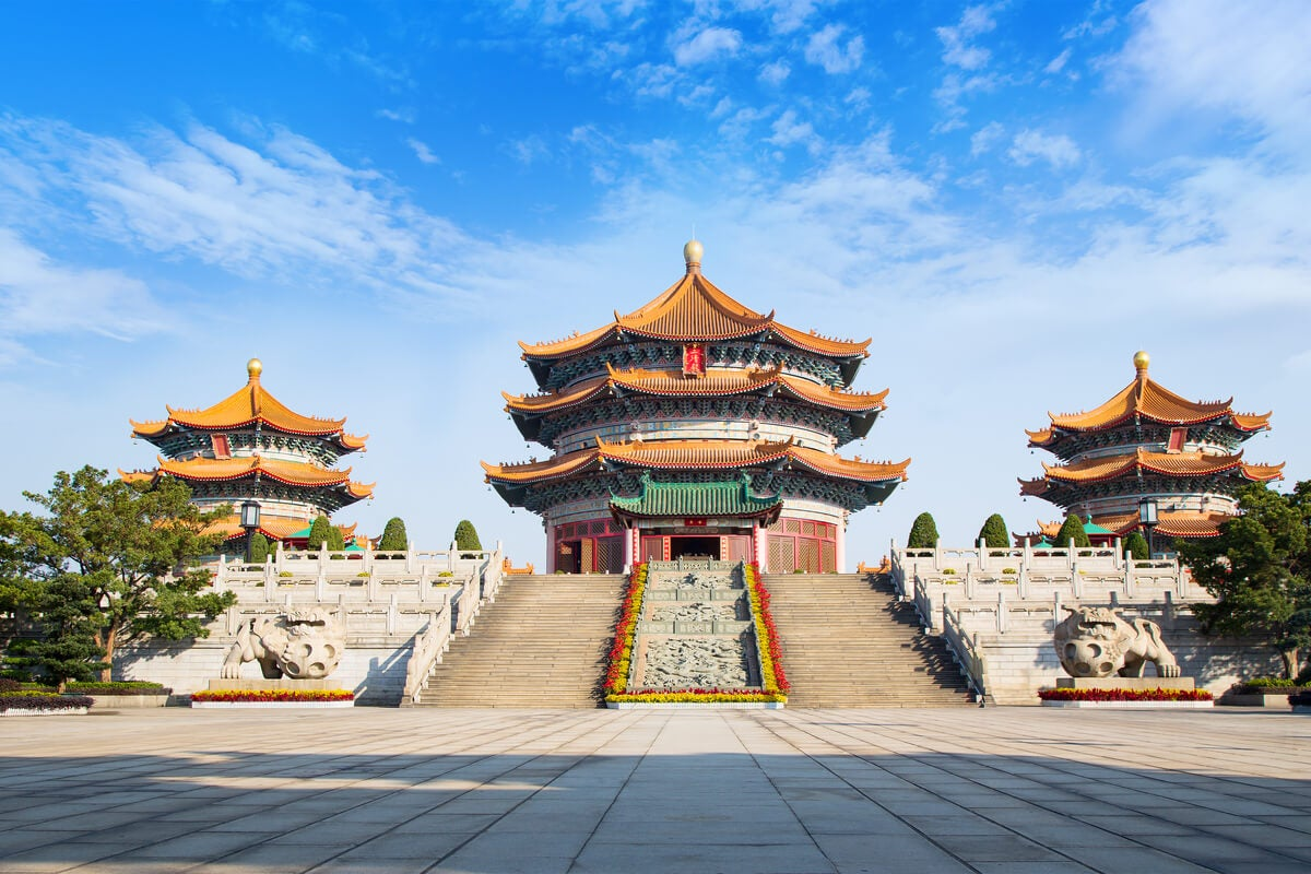 Templo de taoísmo.
