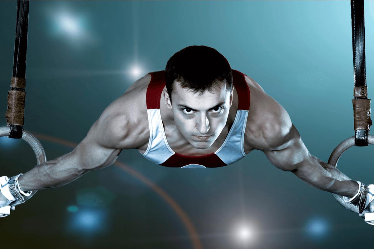 Lesiones en anillas en los Juegos Olímpicos.