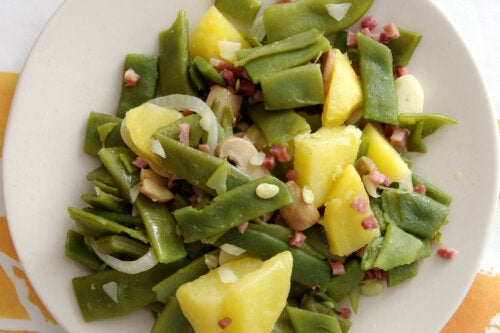 Recetas de judías verdes con jamón