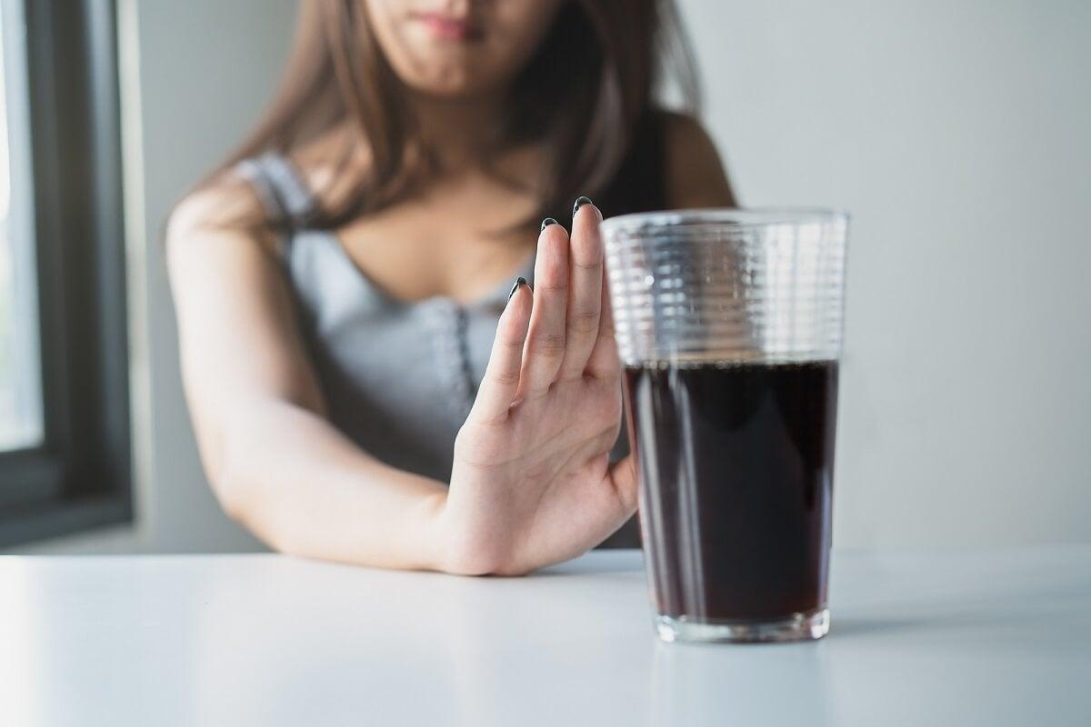 Evita las bebidas ricas en azúcares