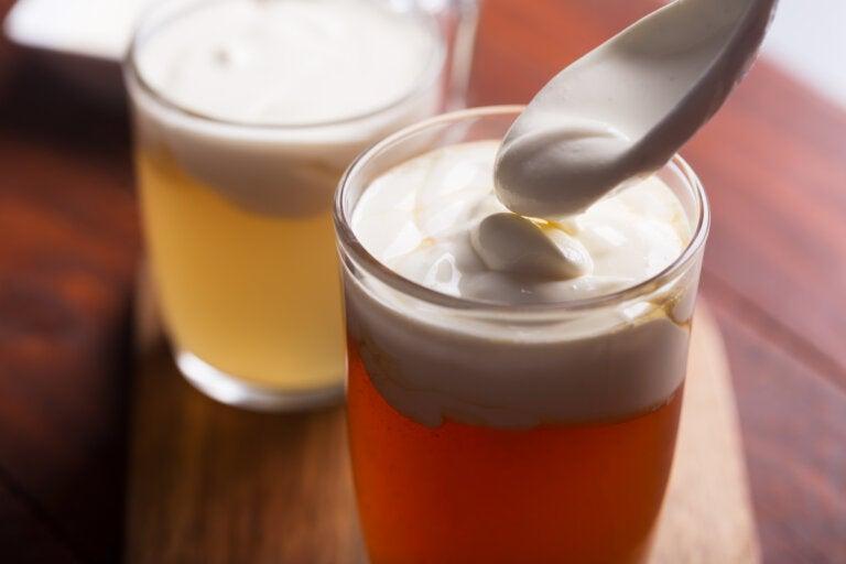 Cheese tea o té de queso: origen y preparación