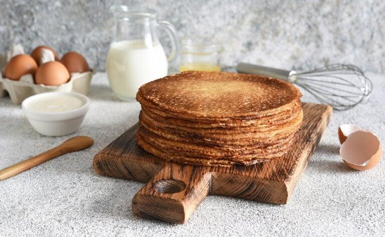 Tortitas de harina de espelta: receta sana y fácil