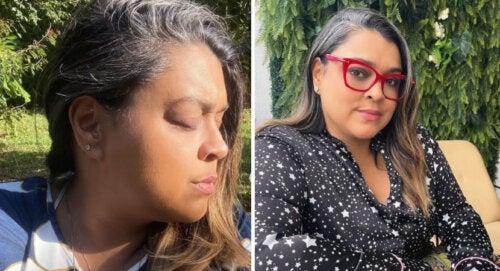 Respeta mis canas: mujer presionada a teñirse el cabello