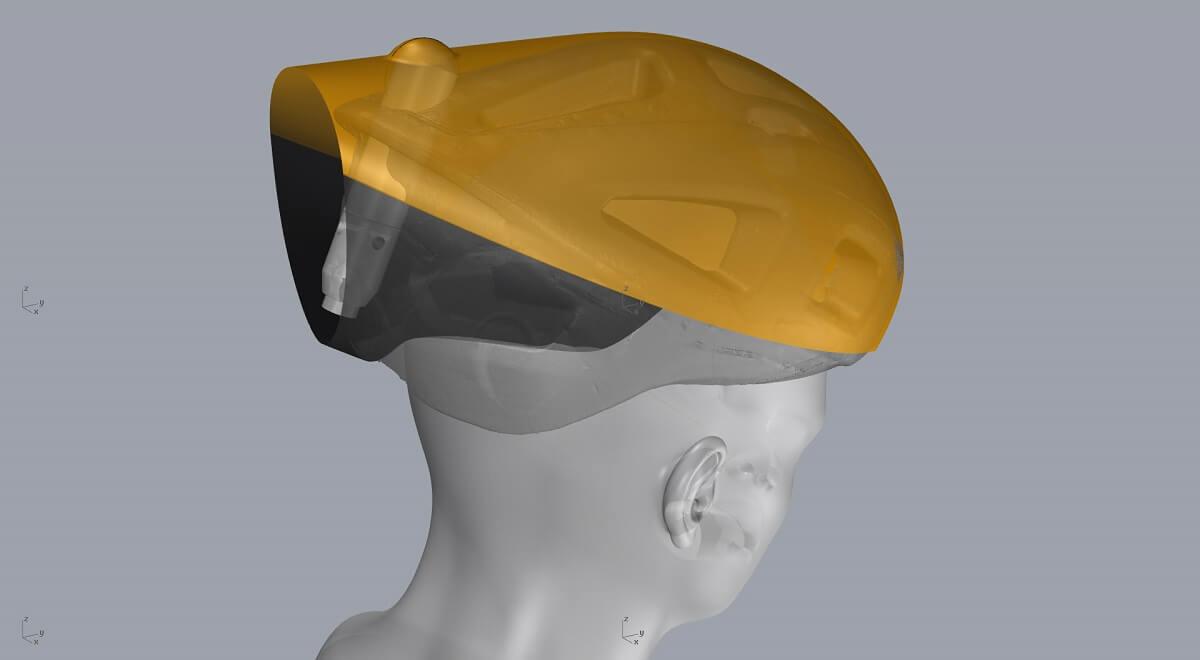 El nuevo casco con airbag y el futuro del ciclismo