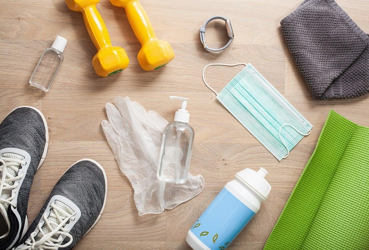 Importância da limpeza após fazer exercícios