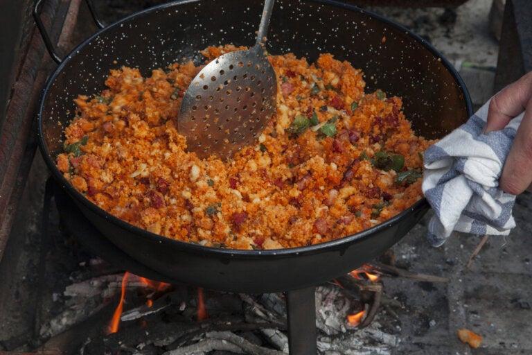 Receta de migas de pastor: fácil y deliciosa