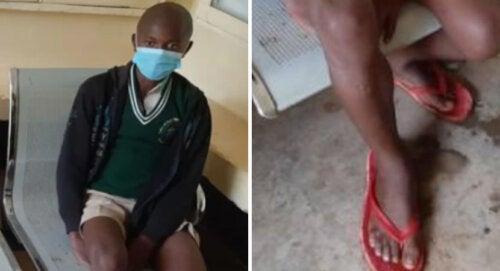 Un niño se vio obligado a caminar 50 km en el frío para conseguir un lugar en la escuela