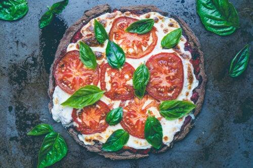 Pizza casera de quinoa: fácil y deliciosa