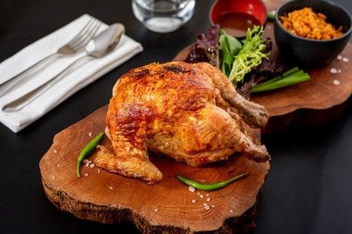 ¿Es saludable comer pollo rostizado?